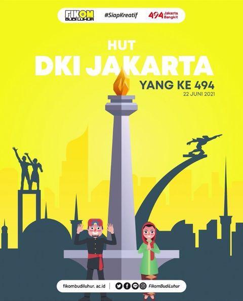 HUT DKI JAKARTA YANG KE-494