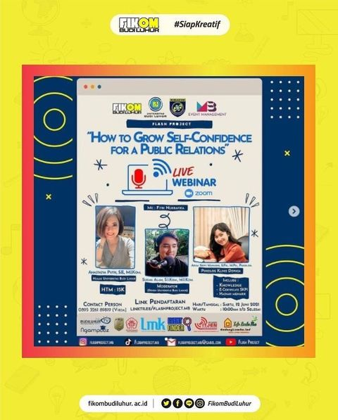 """WEBINAR """"How To Grow Self-Confindence For A Public Relations"""""""