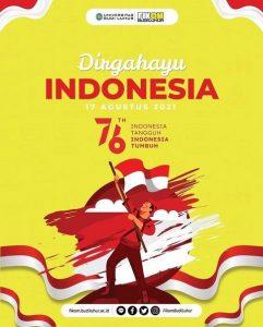 Selamat Hari Kemerdekaan Indonesia yang ke-76