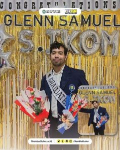 Selamat Atas Kelulusan Mahasiswa FIKOM Budi Luhur Glenn Samuelx