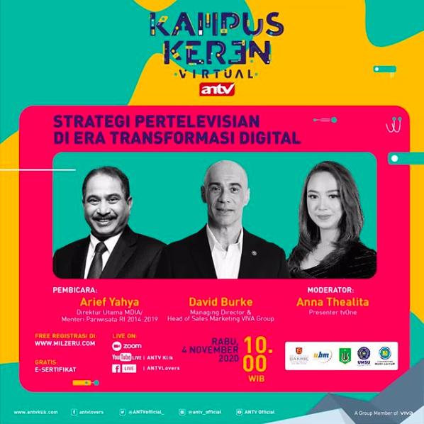 KAMPUS KEREN: Strategi Pertelevisian di Era Transformasi Digital