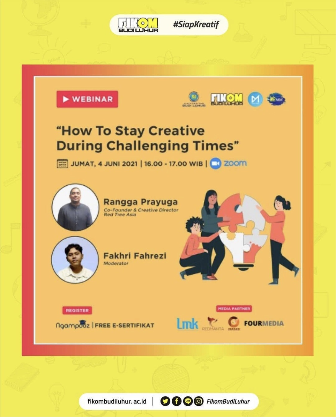Webinar How to Stay Creative During Challenging Times